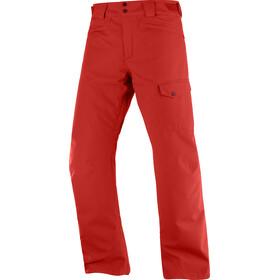 Salomon Highasard Pantalon Homme, rouge